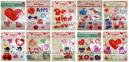 VALENTINES DAY* Various Decor WINDOW GEL CLINGS Home Decorations *YOU CH... - $2.98