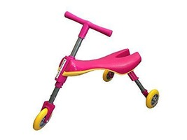 Mr Bigz Foldable Indoor/Outdoor Toddlers Glide Tricycle No Assembly Requ... - $47.74