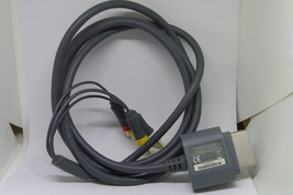 Genuine Official OEM Microsoft XBOX 360 Composite AV Audio Video Cable - $7.60