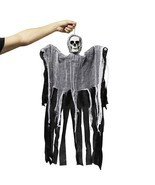 Halloween Party Hanging Ghost Haunted House Decor Skull Scary Reaper Hor... - $13.37 CAD