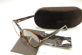 Authentic Tom Ford Eyeglasses Frame TF5245 052 Havana Brown Italy Made 53-15-135 - $133.62