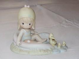 Precious Moments August 1988 Figurine #110078 Samuel J Butcher Pre Owned - $21.48