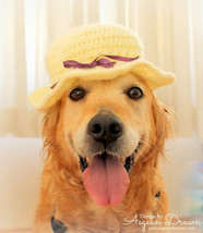Summer Hat for Dogs, Sun Hat Dog Hat, Summer Dog Accessories, Summer Dog... - $15.95