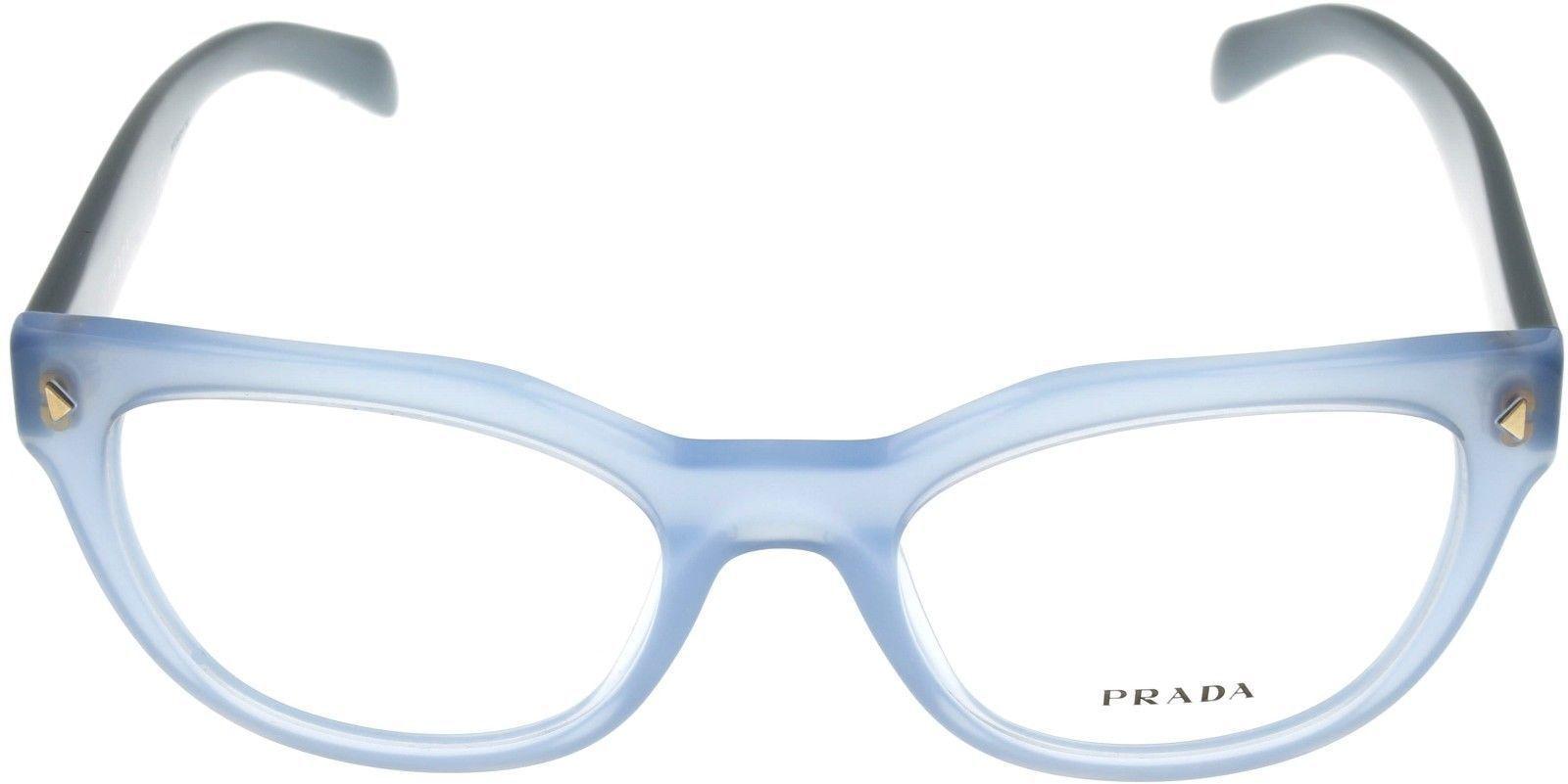 Prada Eyewear Frame Blue Azure Cat Eye Women PR21SV UEX101