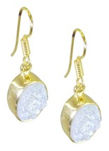 Multi Gold Plated Fashion ideal Druzy exporter Earring AU gift - $9.84