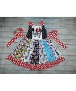 NEW Boutique Mickey Minnie Mouse Girls Sleeveless Ruffle Twirl Dress - $19.99