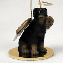DOBERMAN (BLACK, UNCROPPED) ANGEL DOG CHRISTMAS ORNAMENT HOLIDAY Figurin... - $12.38