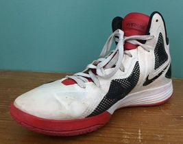 White 2011 Black Hyperfuse Men's 12 Shoes Size Zoom Nike Red Basketball qAUgZ