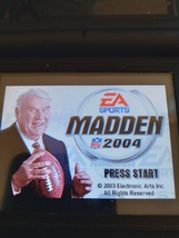 Nintendo Game Boy Advance GBA Madden NFL 2004 image 1