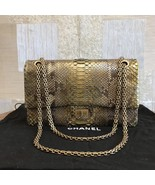 100% AUTHENTIC Chanel 2.55 Reissue PYTHON 226 Double Flap Bag  - $3,999.99