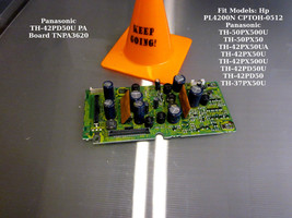 Panasonic TH-42PD50U Pa Board TNPA3620 (Pc Board Pa Pnl, Pa Board) [See List] - $30.00