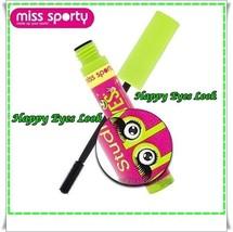 Miss Sporty Studio Lash Happy Eyes Mascara  8 ml  Black - $6.84
