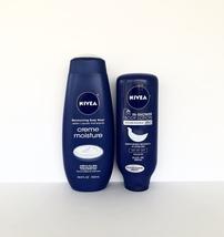Nivea Creme Moisture Body Wash & In-Shower Body Lotion - $7.00