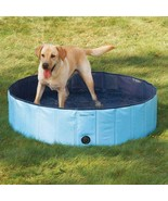 Dog Pool EXTRA TOUGH BLUE SWIMMING POOLS for LARGER DOGS Canine Splash R... - $138.49