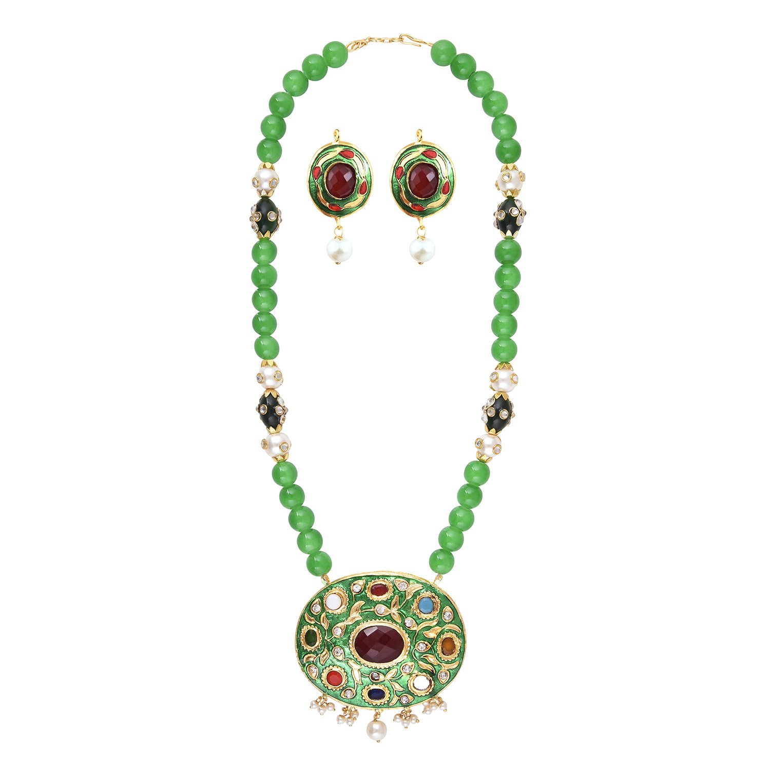 Efulgenz Designer Necklace Set for women