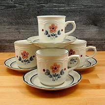 """Set Mit 4 Tassen Untertasse Hearthside Cumberland Brambleberry 237ml """" (... - $9.45"""