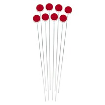 376Rdm-8 Red 36-Inch L Post Reflective Driveway Marker, 8 Pack - $47.99