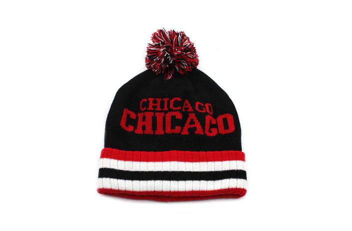 "Case of [36] ""Chicago"" Knit Pom Hats"