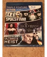 Spoils of War / BloodRayne: The Third Reich / Ultimate Heist (Blu-ray) NEW - $7.24