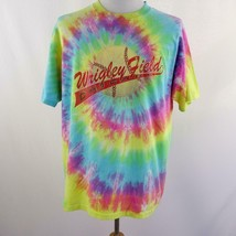 Vintage Single Stitch Wrigley Field Chicago Tie Dye Graphic T Shirt Mens... - $77.30