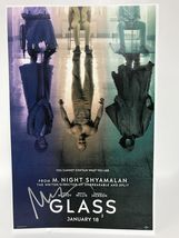 "M. Night Shyamalan Signed Autographed ""Glass"" 11x17 Movie Poster - COA Holograms - $199.99"