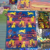 Lisa Frank Stickers Stationery Lot Princess Pearls Puppies Sandcastles Dalmatian image 2