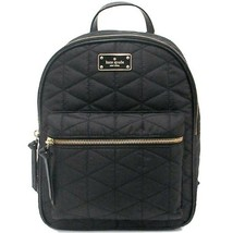 Nwt Kate Spade New York Wilson Road Quilted Small Bradley Backpack Black 4752 - $156.42