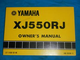 1982 82 Yamaha XJ550R Xj 550 Owner's Owner Service Manual - $71.71