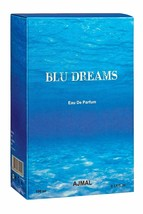 Ajmal Blu Dreams EDP 100 ml Fougere perfume for Men Free Shipping - $28.94