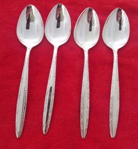 Set of 4 Candleglow Silverplate by Towle Place Oval Soup Spoons (#1503) - $33.15