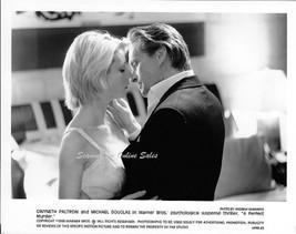 A Perfect Murder Gwyneth Paltrow Michael Douglas 8x10 Photo - $9.99