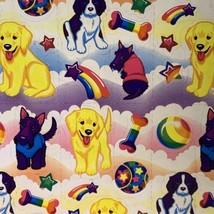Lisa Frank Complete Sticker Sheet S243Pups Doges Dog Lab Terrier Spaniel image 2