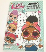 LOL Surprise Jumbo Word Search Puzzle Book 80 pages - $5.50