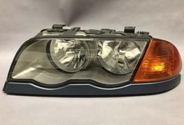 1999 2000 2001 BMW 330i SEDAN LEFT DRIVER SIDE XENON HEADLIGHT OEM - $121.36