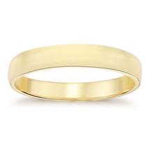 6.1mm14K Yellow Gold Men's Wedding Band - $563.31