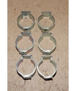 "1/2"" Hose Pinch Clamps Single Ear 6ea Tubing Dixon Keystone Zinc Steel U... - $6.49"