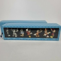 Vintage Disney Mickey Mouse 70 Happy Years Collectible Ornament Set - $49.49