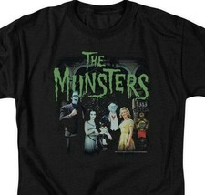 The Munster's family t-shirt 50 years retro 60's comedy graphic tee NBC895 image 2