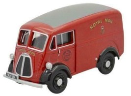 Oxford Diecast 76MJ004 Morris J Type Van Royal Mail Collectible - $38.43