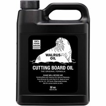 WALRUS OIL - Cutting Board Oil and Wood Butcher Block Oil, 32 oz Jug, Fo... - $24.71