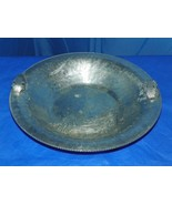 CONTINENTAL HAND WROUGHT SILVERLOOK- 715  HAMMERED ALUMINUM DISH - $24.75