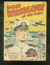 DON WINSLOW OF THE NAVY #33 1946-FAWCETT-SERVICE RIBBON FR/G - $49.66