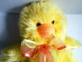 "Ty Beanie Babies Retired Hatcher Chick Fluffy Plush 14"" 2005 Easter Chicken - $39.58"