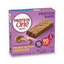 Protein One 90 Calorie Protein Bar, Peanut Butter Chocolate, 4.8 oz(us) - $9.85