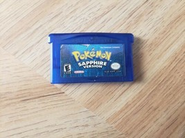 Pokemon: Sapphire Version (Game Boy Advance, 2003) AUTHENTIC. RPG.  - $36.62