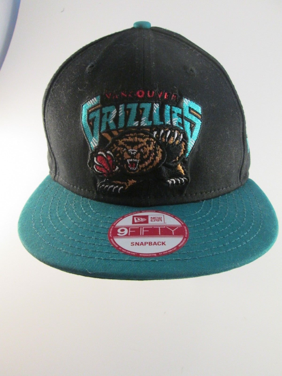 size 40 4df8b 22e17 ... 9fifty hardwood classics snapback hat cap nba retro a973c 6edfd new  style new era 20661568 vancouver grizzlies nba hwc youth out of line 9fifty  black ...