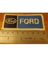 FORD Emblem Logo Embroidered Hat Jacket Iron on Patch Automotive Badge New - $4.99