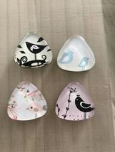 Cute bird magnets, Fridge magnets, Kitchen magnets, Cubicle decor, Bird ... - $10.00