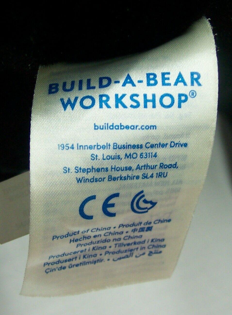 "Build-A-Bear Star Wars BEAR AS DARTH VADER 18"" Plush STUFFED ANIMAL TOY"