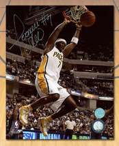 Jermaine O'Neal Indiana Pacers Autographed Basketball 8x10 Photo - $57.50
